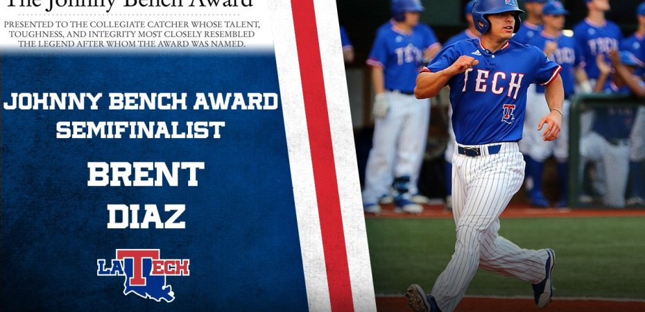 Brent Diaz named Johnny Bench Award semifinalist