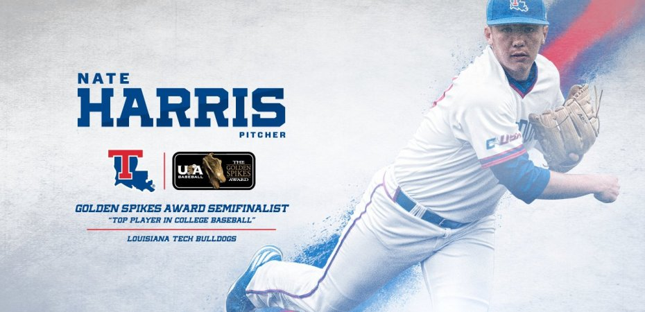 Nate Harris named Golden Spikes Award semifinalist