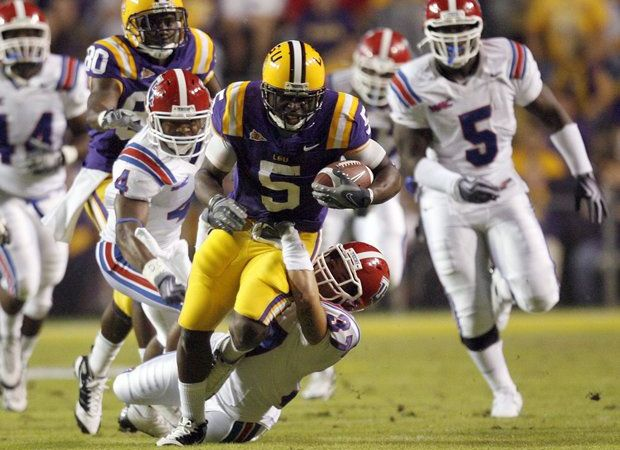 LSU's 2018 game against Louisiana Tech moved up one month