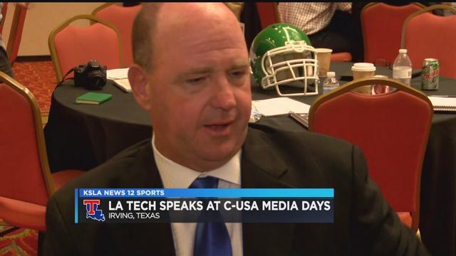 Defense the talk for La. Tech at C-USA Media Days