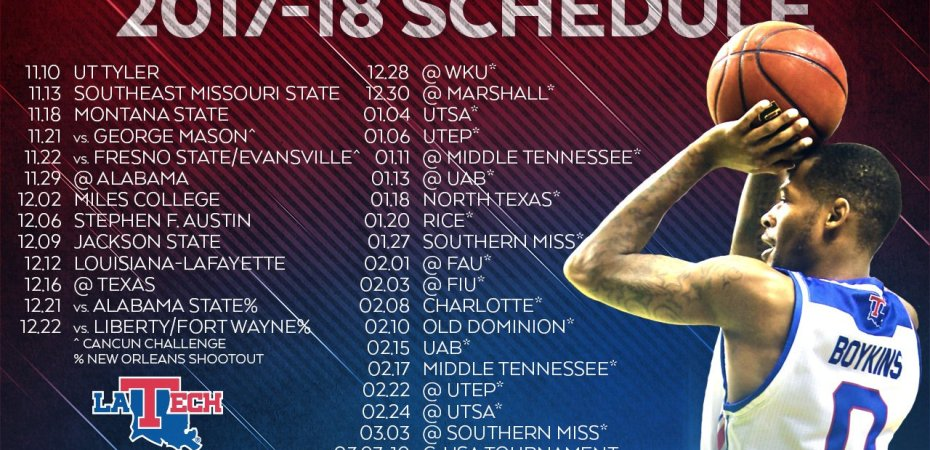 Dunkin' Dawgs release 2017-18 schedule