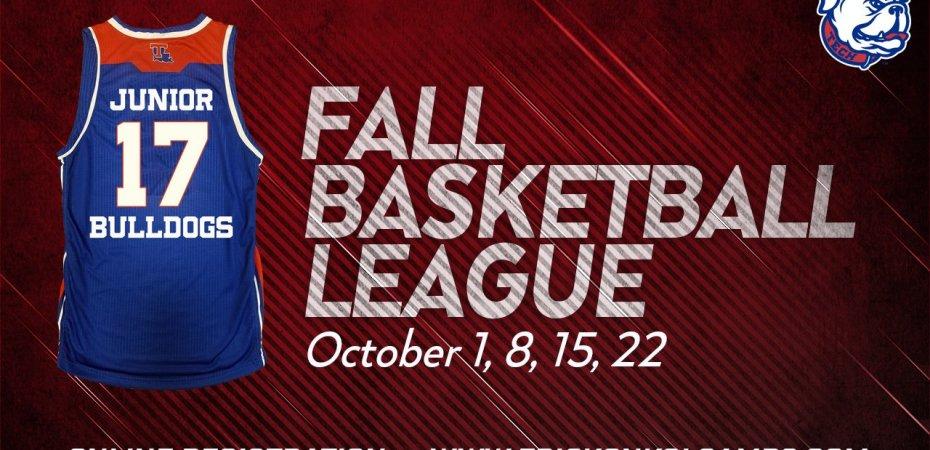 Registration open for third annual Junior Bulldogs Fall Basketball League