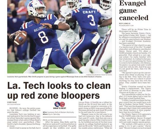La. Tech looks to improve in red zone