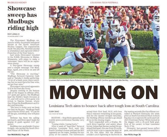 Louisiana Tech tries to 'bury' South Carolina loss this week vs. South Alabama