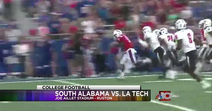 Bulldogs rout South Alabama late, defeat Jags 34-16
