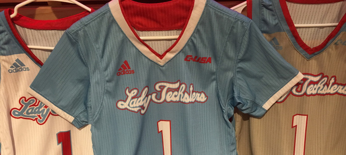 Lady Techsters sign pair during early period