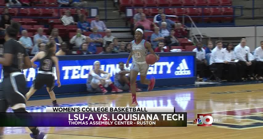 Lady Techsters blow out LSU-Alexandria, 87-47