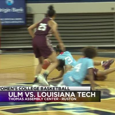 Lady Techsters force 32 Warhawk turnovers, down ULM