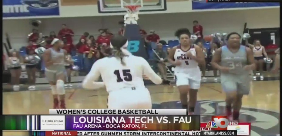 Lady Techsters can't overcome early FAU advantage, drop second straight in Florida