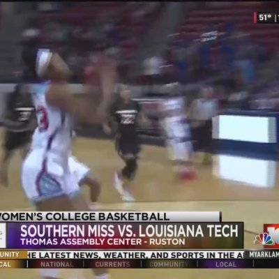 Lady Techsters win home finale in blowout over Southern Miss