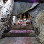 Cave shrine Mount Phousi Luang Probang