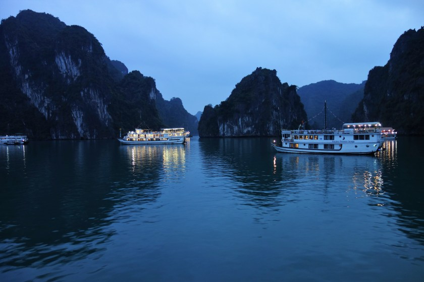Ha Long Bay by Night
