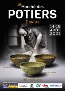 Marché des Potiers de Caylus 14 15 aout 2021