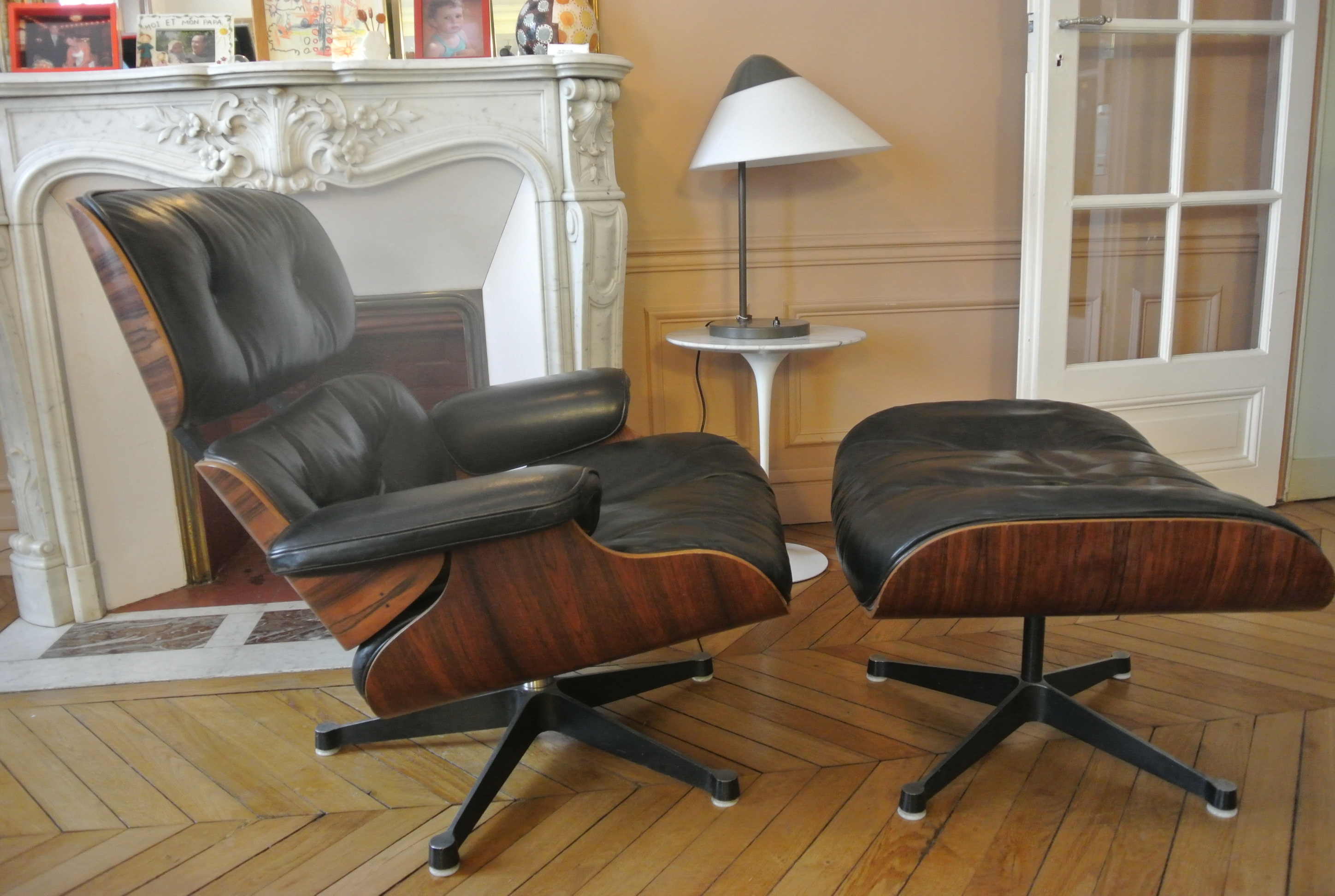 Fauteuil Lounge Chair EamesHerman Miller LAtelier 50