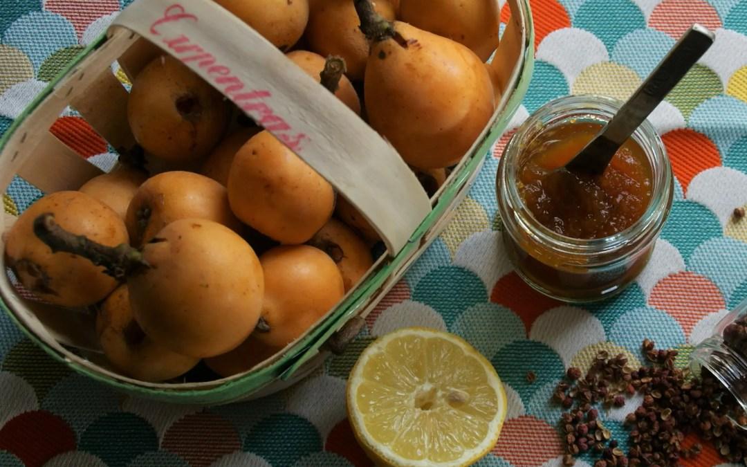 Confiture de NEFLES du Japon au Citron et Poivre SICHUAN