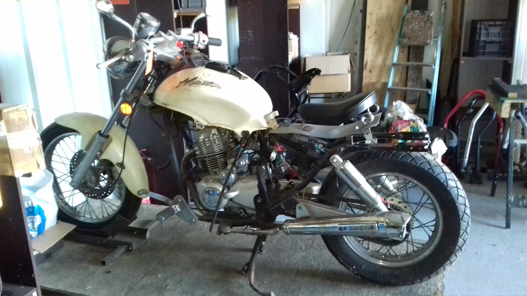 You are currently viewing Kymco 125 Hipster