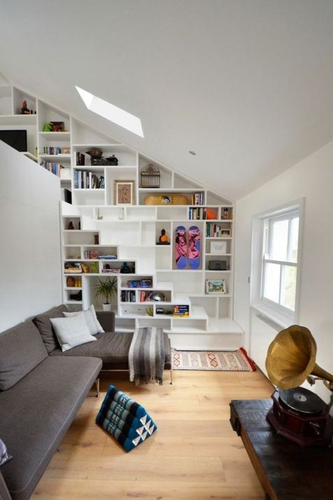 escalier bibliothèque 4