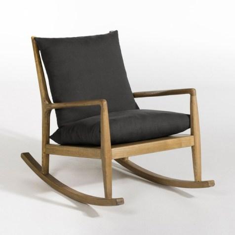 salon trendy fauteuil bascule