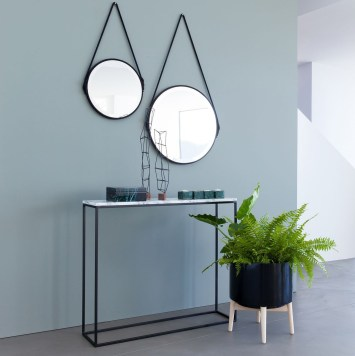 salon trendy miroir