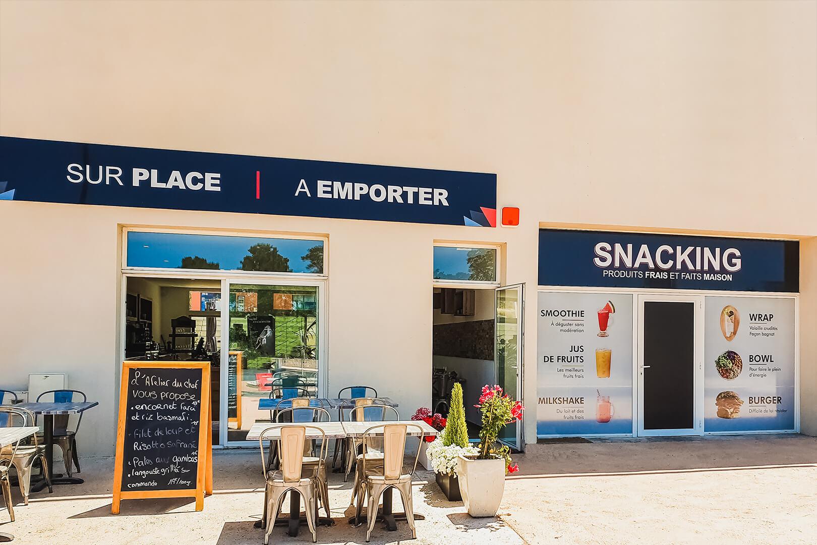 Boutique-restaurant Lozari - L'Atelier du Chef - Traiteur Corse