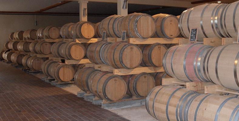 les tins exposition cave chai stockage 1 - Les berces de barriques de l'Atelier du tin