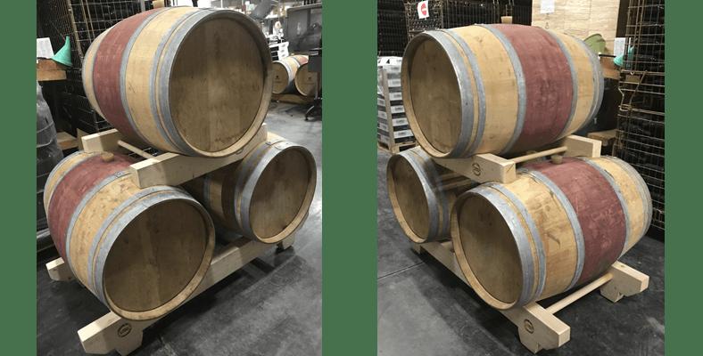 les tins exposition cave chai stockage 6 - Les tins de barriques de l'Atelier du tin