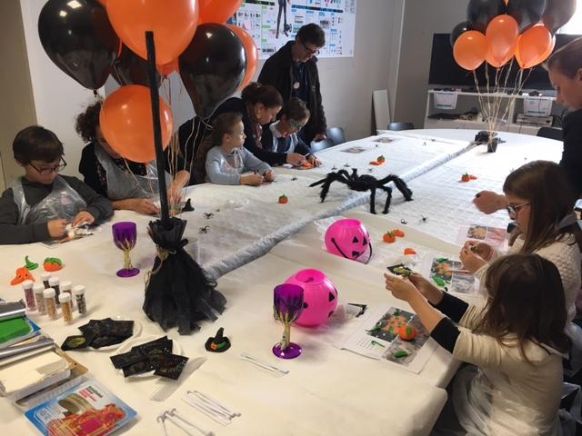 atelier halloween diy creatif