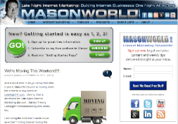 The Old MasonWorld.com Site circa 2012