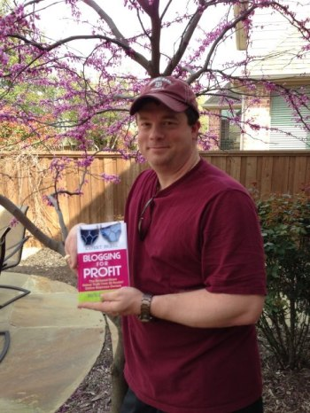 Mark with Nicole's Book, Expert Briefs: Blogging for Profit