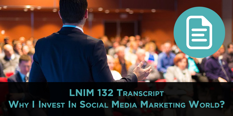 LNIM 132 Transcript: Dropbox Tips and Why Attend Conferences