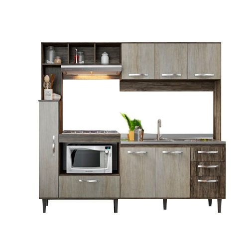 Mueble De Cocina Compacta Lais Kit Alacena - La Tentación