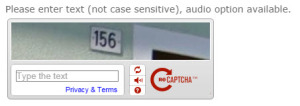 VicRoads captcha use before you can see if a vehicle is registered or not... what a pain and is it really necessary?