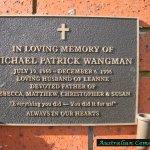Remembrance Head stone
