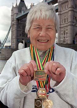 Go Granny! Two Marathoners Speed Past 90