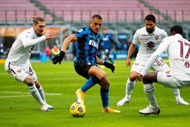 El Inter consiguió una gran remontada ante Torino - La Tercera