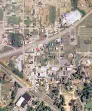 Google Map of downtown Hackleburg. Photo taken in 2012 after most of the cleanup. Most of the following photos are near the corner of Main and Walker Streets.