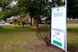 A retirement home offering Alzheimer's care