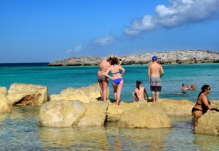 At the Great Stirrup Cay, Bahamas.