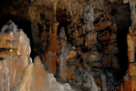 Cave formations.