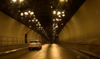 Cumberland Tunnel, which is how visitors cross between Kentucky and Tennessee today.