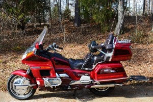 Big Red—my Gold Wing
