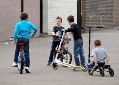 Boys in Derry.