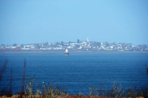 Lubec, ME, from Quoddy Head State Park.
