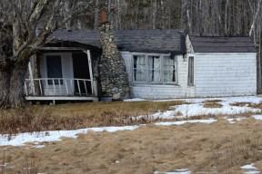 Abandoned vacation cabins