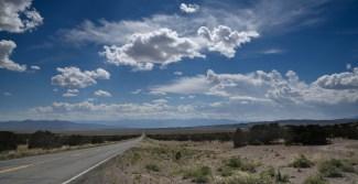 Mile after mile on highway U.S. 50.