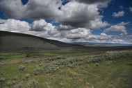 In Big Hole, this photo shows the approximate location of the Nez Perce camp before the U.S. attacked.