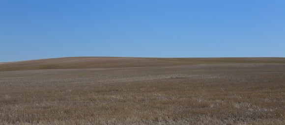 Southeastern Wyoming rangeland. The countryside rolls on for miles, and the open space is breathtaking.