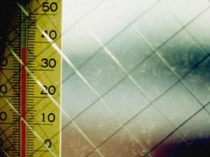 températures en baisse