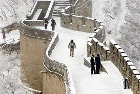 chine neige novembre 2012