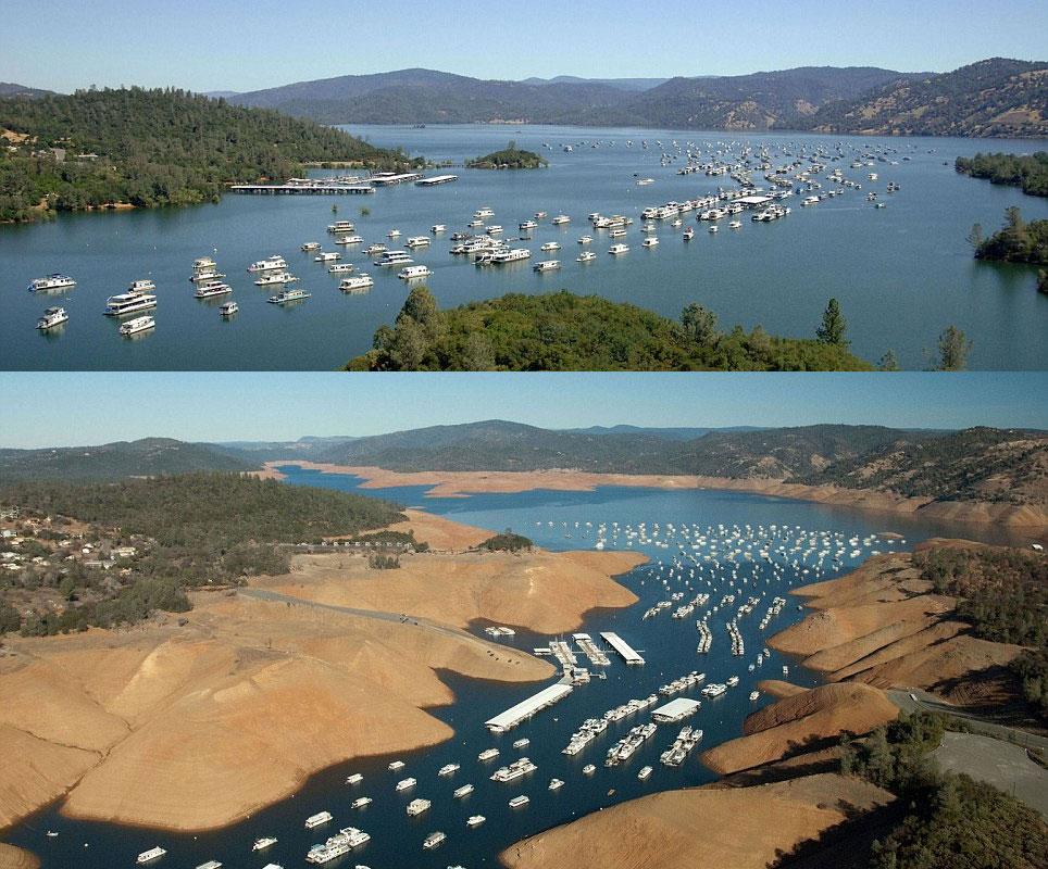 secheresse-Californie-lac-oroville